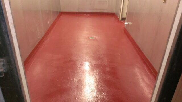 Quartz Epoxy Garage Floor