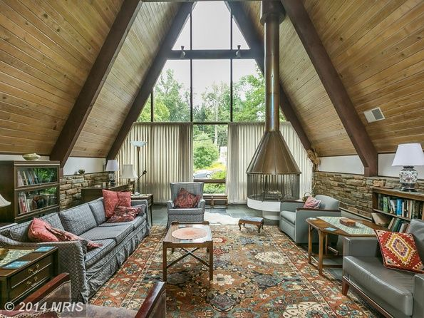 A Frame House Interior In Towson Maryland A Frame House Plans