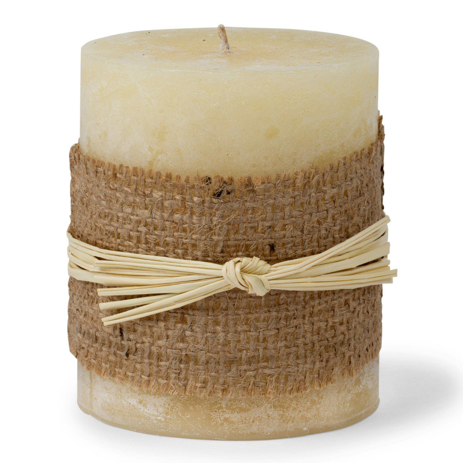 Warm honey candle wide