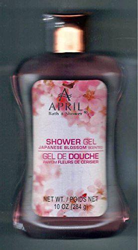 April Bath And Shower Japanese Blossom Scented Gel 10 Fl Oz