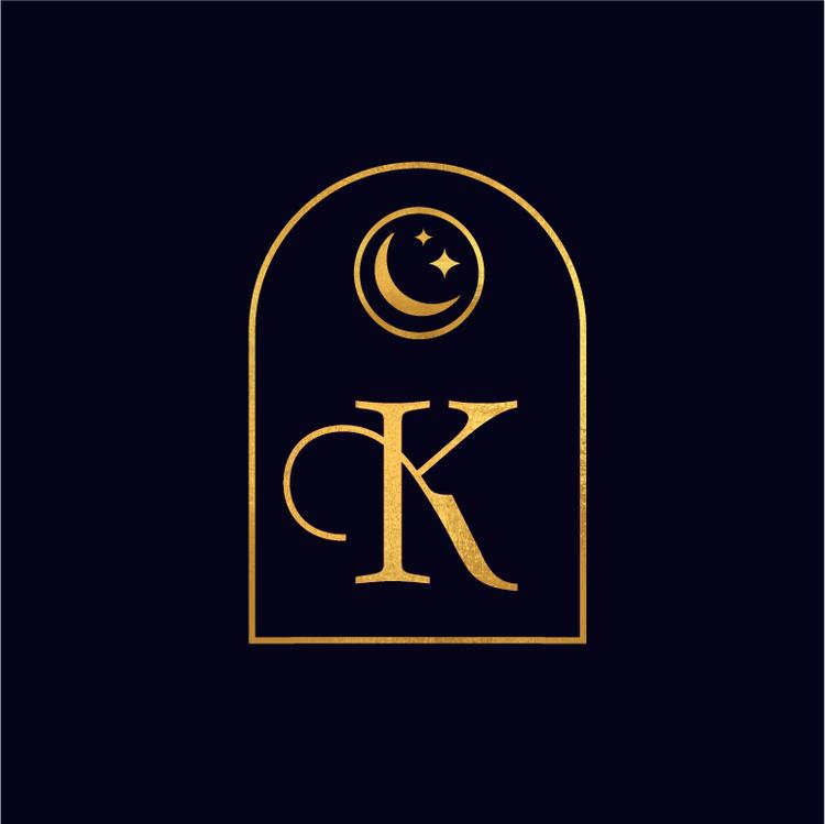 Black And Gold Celestial Moon Stars Logo June Mango Design Boutique Mercury Logo Star Logo Picture Albums