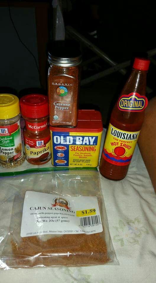 ingredientes para ser camarones estilo boiling crab
