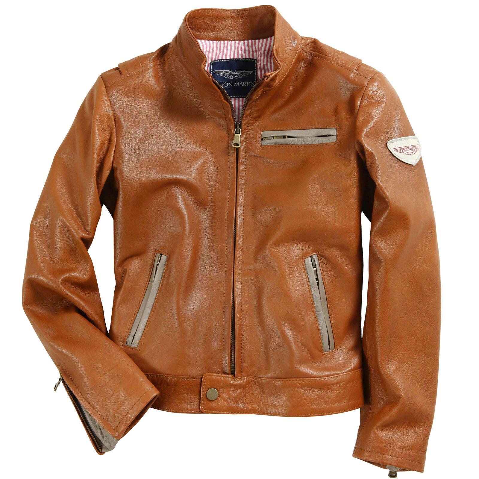 Aston Martin Leather Jacket Brown 34801 Melijoe Com Leather Jacket Brown Leather Jacket Jackets