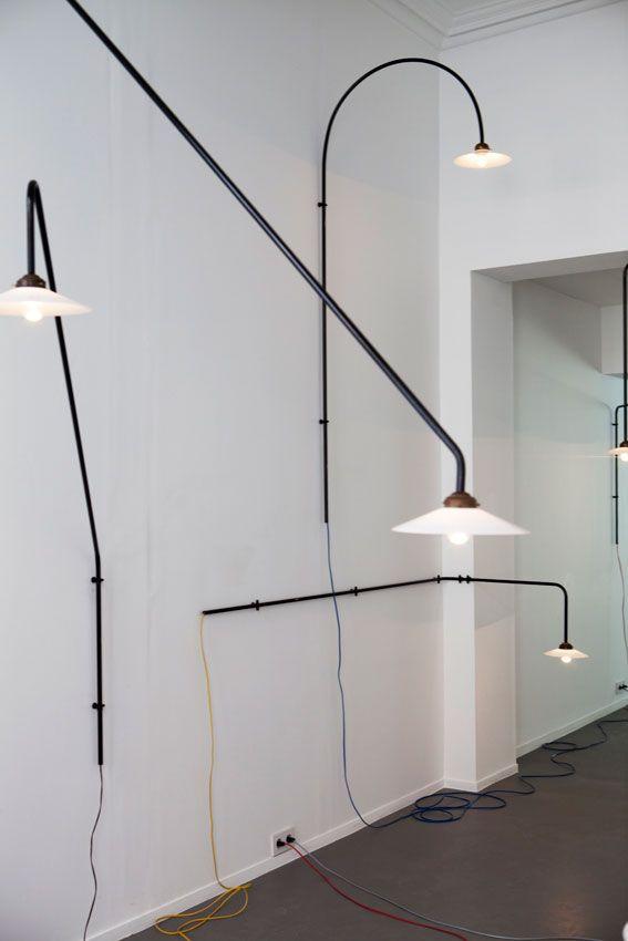 hanging lamp Muller Van Severen Light my world
