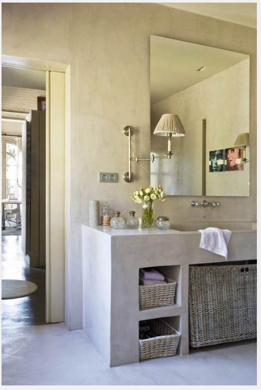 27 Tadelakt Bathroom Design Ideas - #27 #Bathroom #design #Ideas #Tadelakt