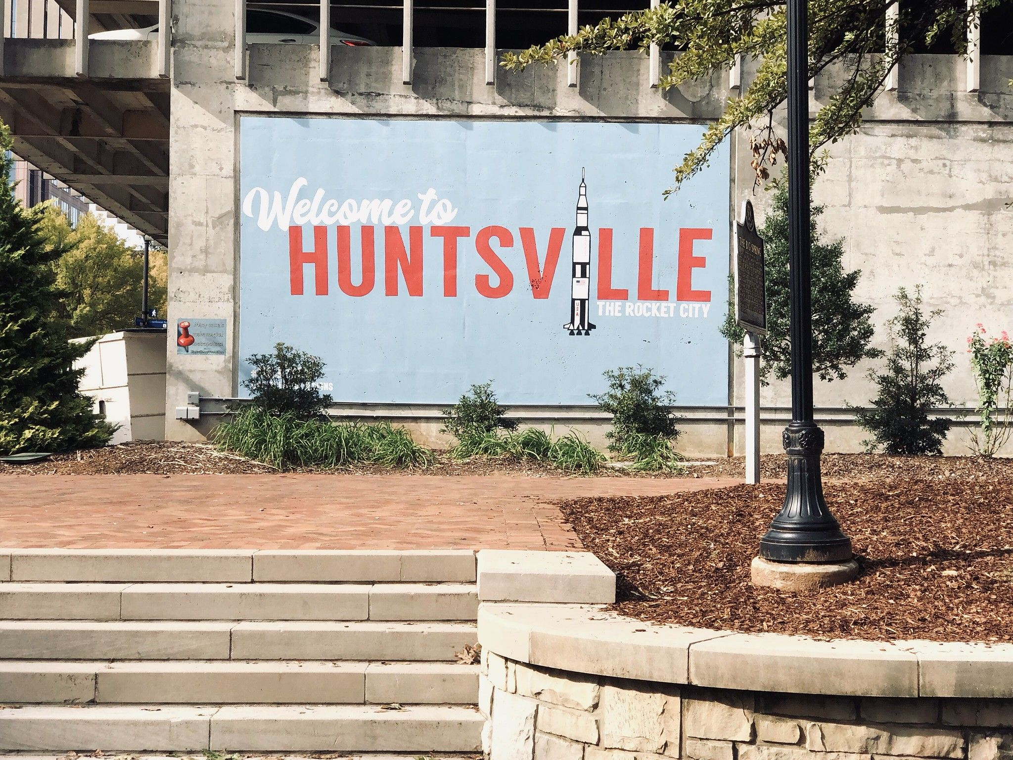 Welcome To Huntsville The Rocket City Mural Spring Park Mural Rocket City