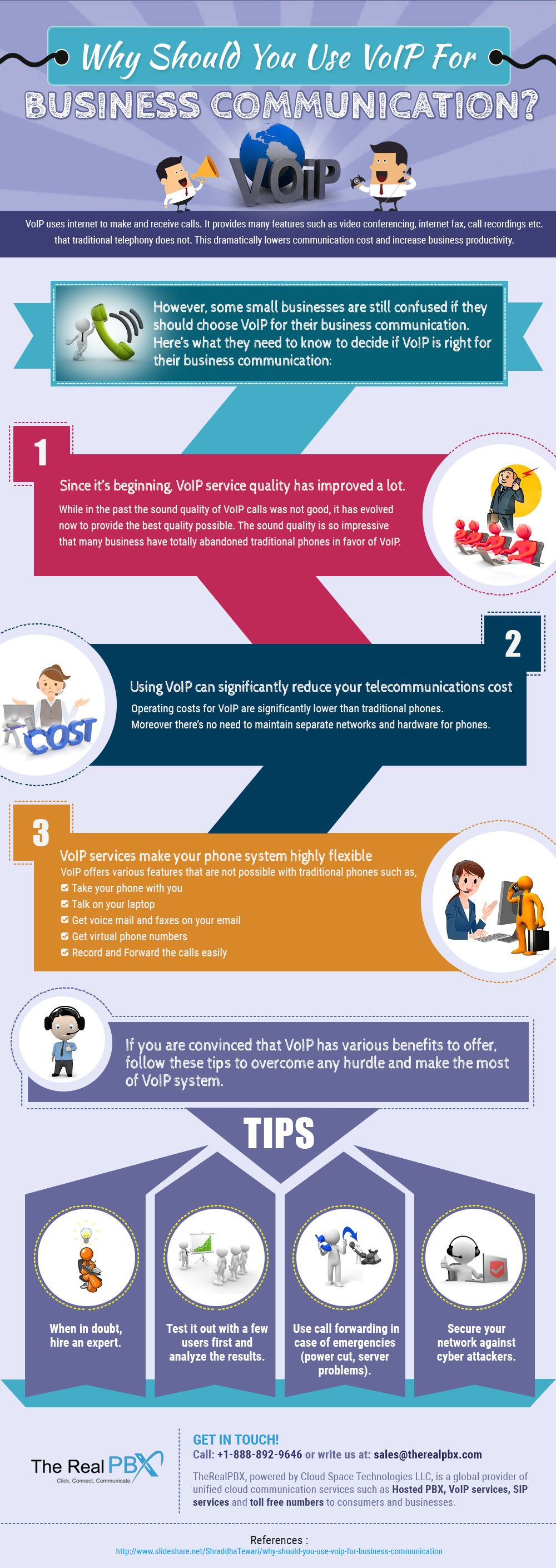 What is voip and how you - Infographic Why Should You Use Voip For Business Communication
