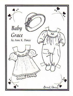 TODO CON PAPEL : Bebés para recortar   Paper Dolls   Pinterest ...