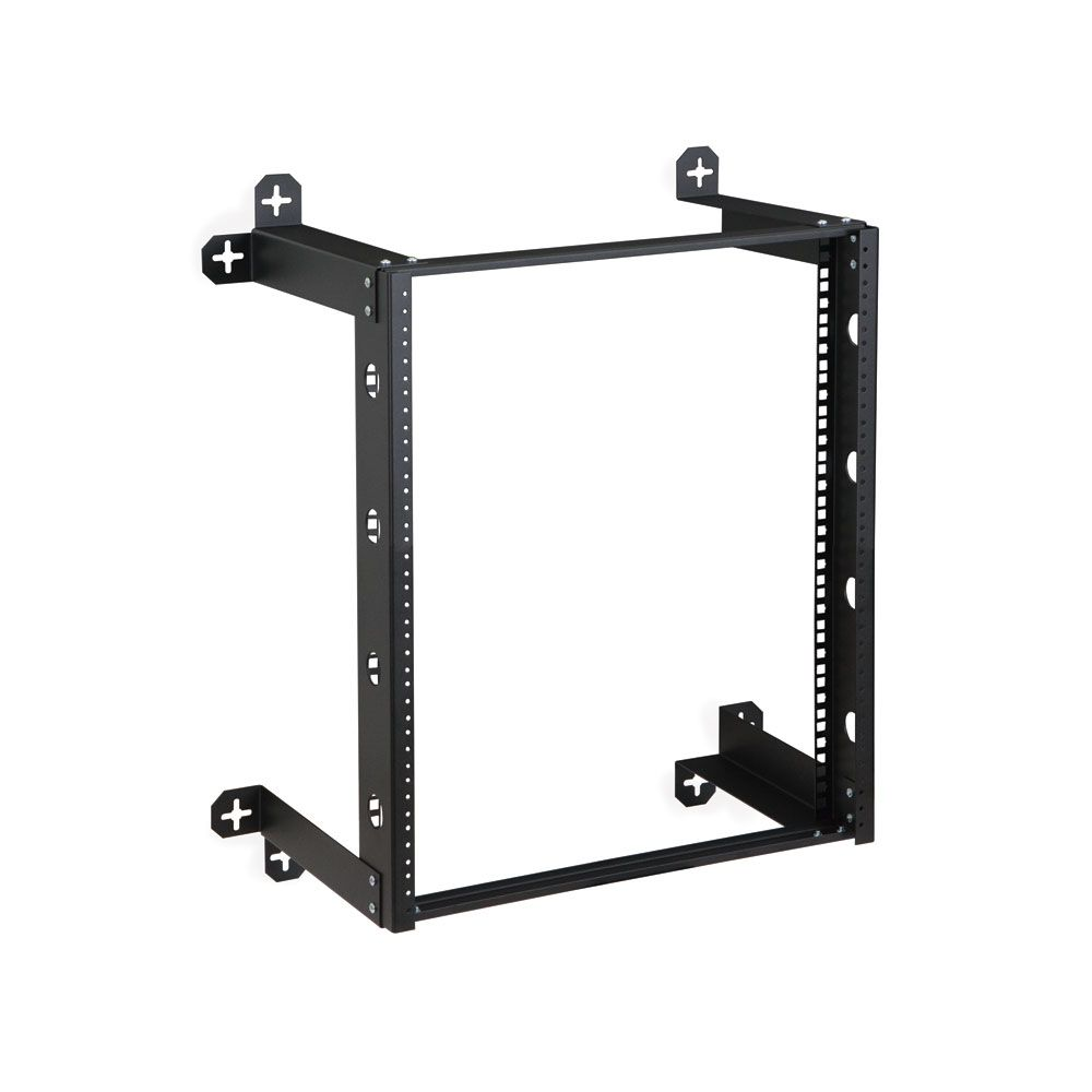 12u V Line Wall Mount Rack 12 Depth Item 1915 3 300 12 With Images Wall Mount Rack Wall Racks Frames On Wall