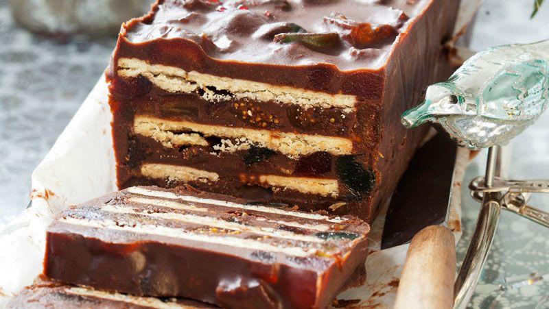 baka enkelt med choklad