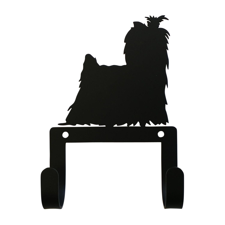 6 hooks metal black dogs Shih Tzu Key holder beautiful key hook for wall