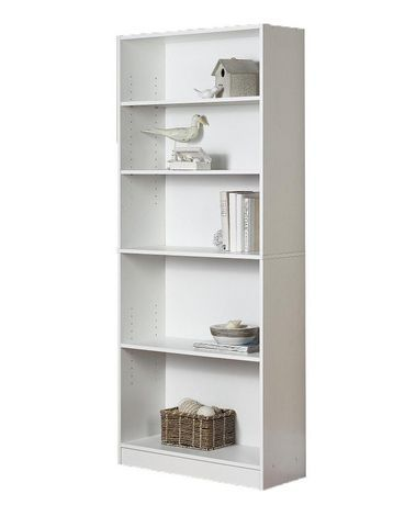 Shelf Bookcase Walmart  Library Room Makeover Pinterest - Bookshelves walmart