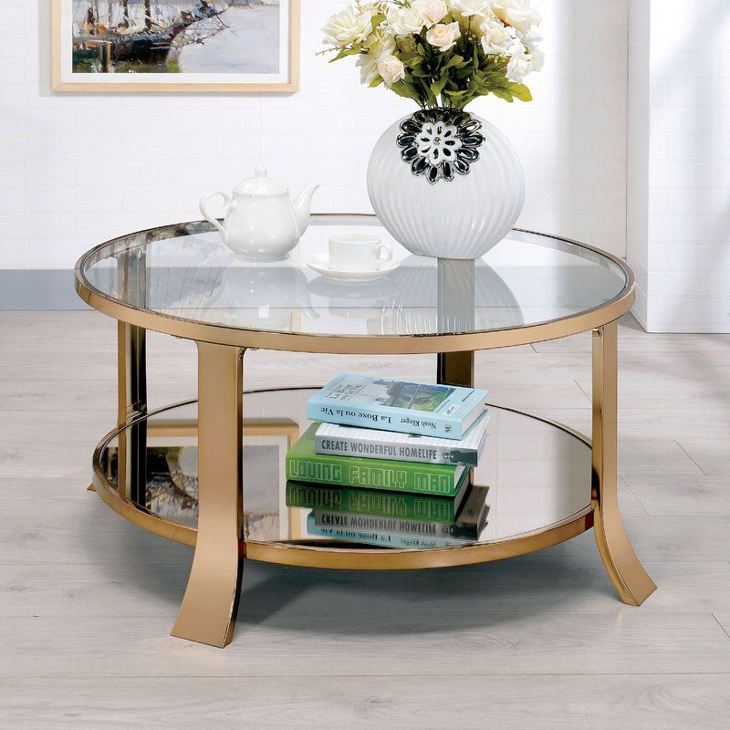 Marion Contemporary Coffee Table