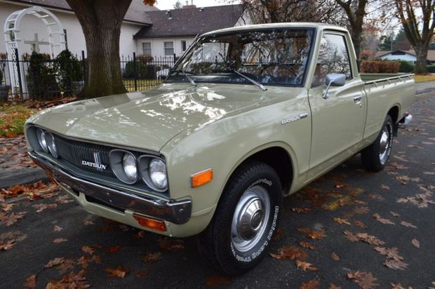 Well Kept 43k Mile 1973 Datsun 620 Pick Up Datsun Pickup Datsun Datsun Car