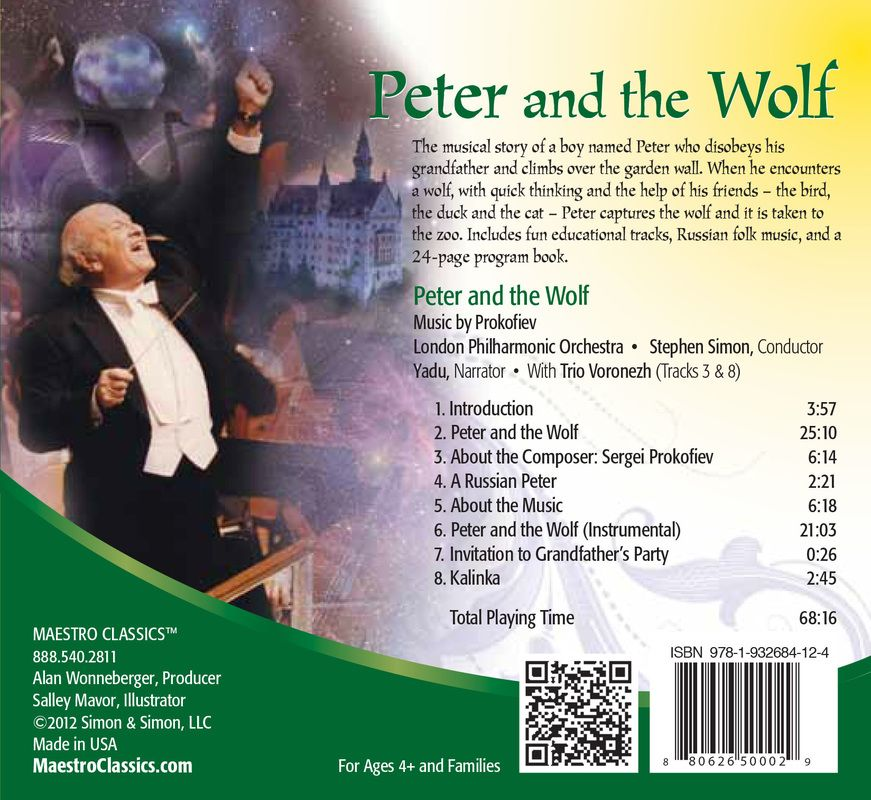 The greatest recording of Prokofiev's Peter and the Wolf