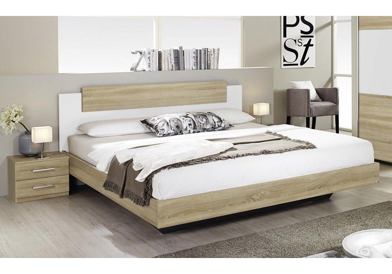 3301239 SchlafzimmerSet mit Bett 160 x 200 cm Eiche