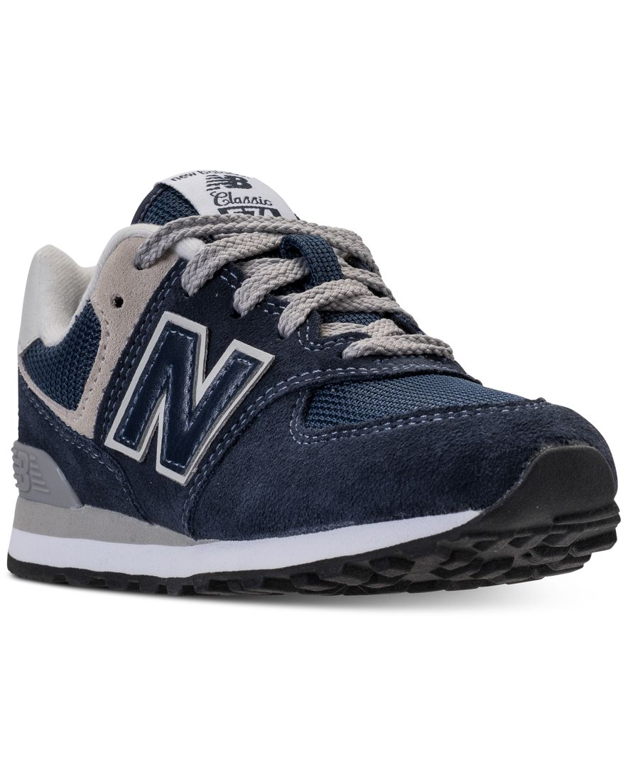 The New Balance Big Boys' 574 Core Casual Running Sneakers