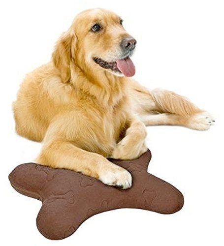 Simmons Dog Bone Shape Pillow Chocolate Brown image to #1: 670dd76e c ad b0a76f