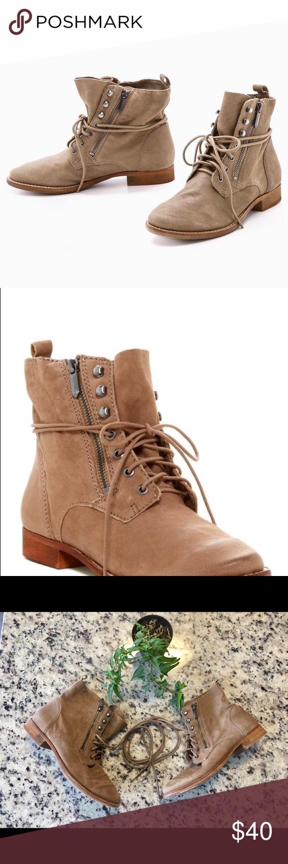 7e1e887973d89 Sam Edelman mackay leather tan zipper ankle boots Sam Edelman Mackay leather  ankle boots No size