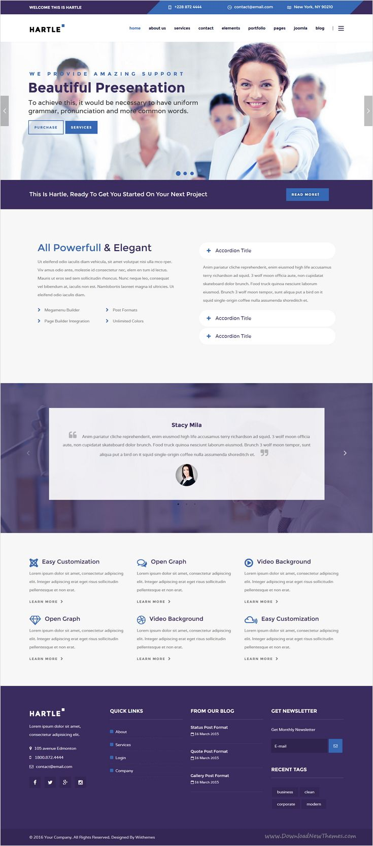 Hartle a modern and high quality professional responsive joomla hartle a modern and high quality professional responsive joomla template for corporate joomla templatesbusiness cheaphphosting Images
