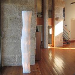 Photo of Arturo Alvarez 5-flammige Designer-Stehleuchte Gea beige Gea Ge03 beige, Kabel transparent