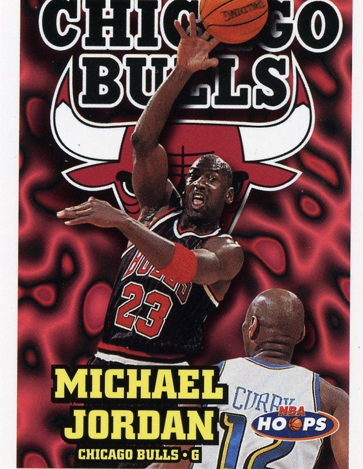 RARE 97/98 SKYBOX NBA HOOPS MICHAEL JORDAN CHICAGO BULLS