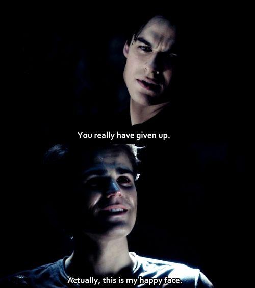 The Vampire Diaries Damon Salvatore Quote - Ian ...