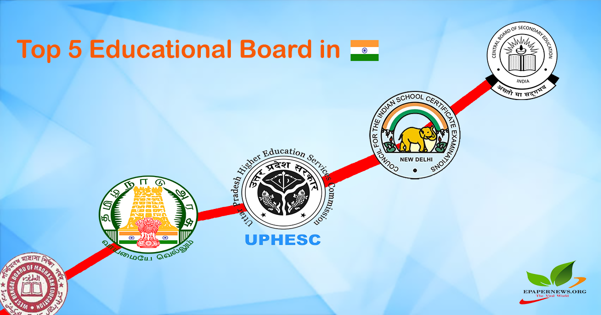 Never Changing Top 5 Educational State Boards In India Education School Certificates India School