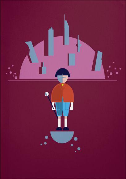 AKIRA Posters by Alan Nagle, via Behance