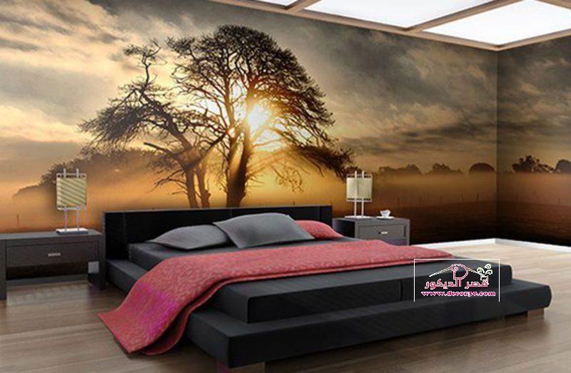 أشكال ورق الحائط 3d ا 3d Wallpaper Shapes قصر الديكور Bedroom Wall Designs Luxurious Bedrooms Bedroom Design