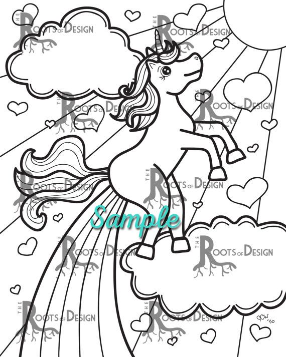 Cat Farting Rainbows Coloring Pages - Tripafethna