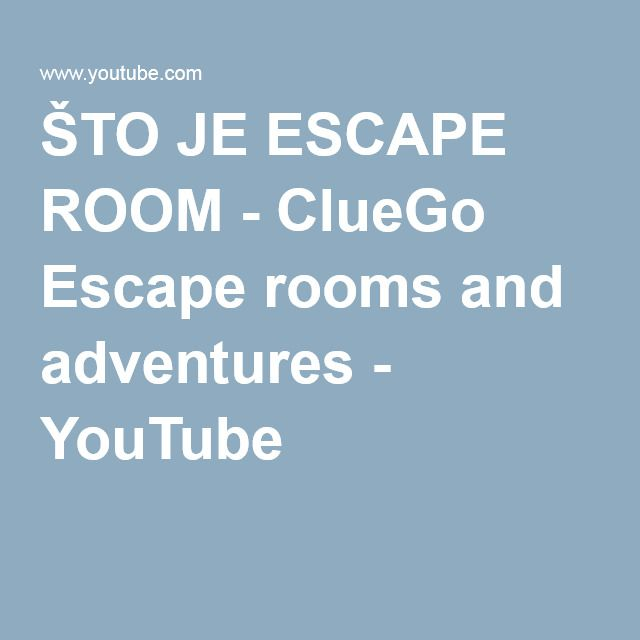 Sto Je Escape Room Cluego Escape Rooms And Adventures Escape Room Escape Room Game Escape
