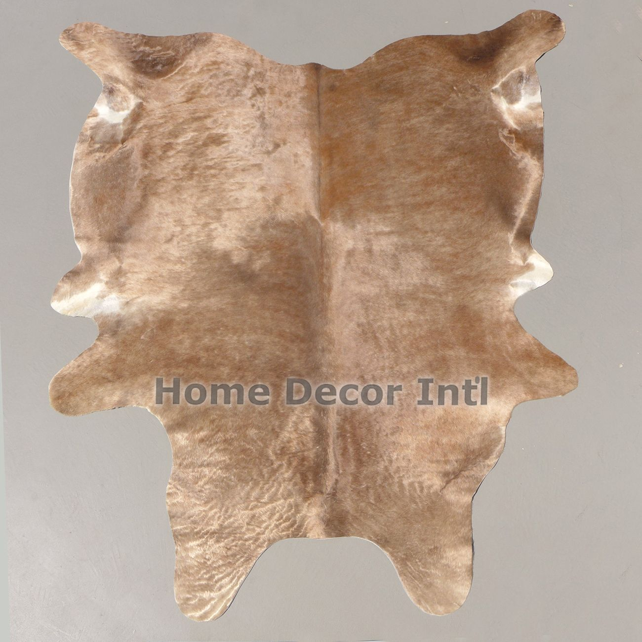 Rare Taupe and Copper Brindle Cowhide Rug. furrugs.com