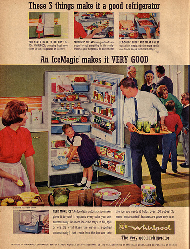 Old Whirlpool Refrigerator Ad From Way Back