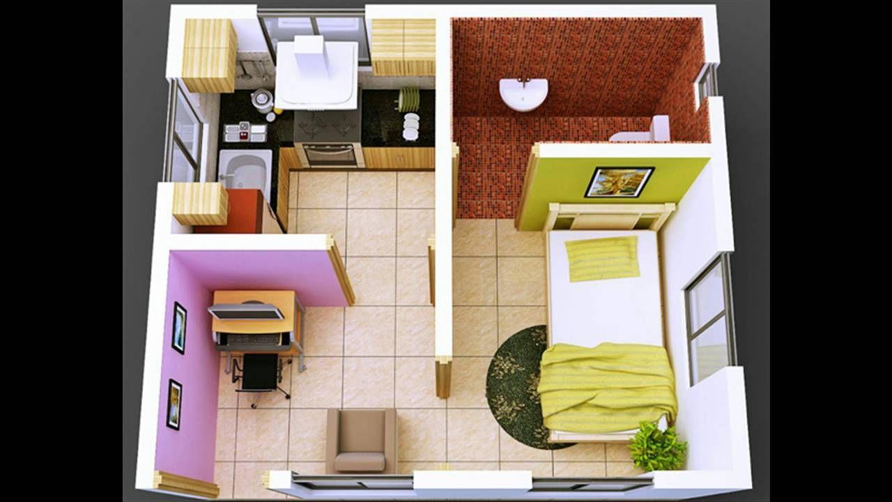 Desain Rumah Kost 1 Kamar Tidur Small House Interior Design Small House Interior Tiny House Interior Design Desain rumah dua kamar