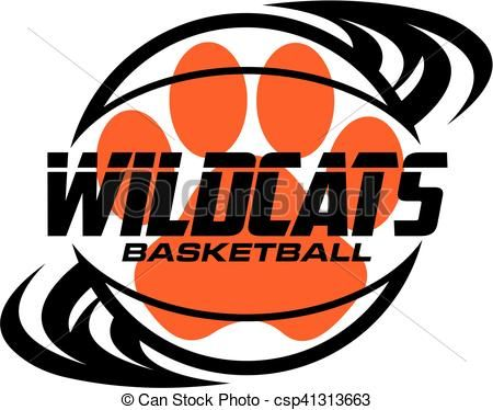 vector wildcats basketball stock illustration royalty free rh pinterest ca wildcats clipart free wildcats clipart free
