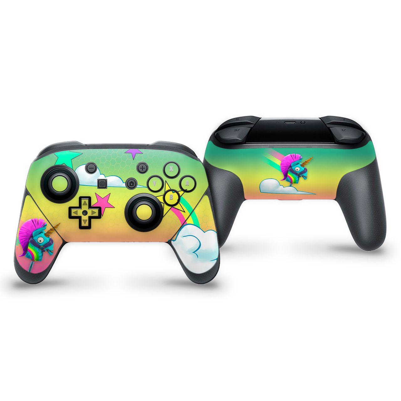 Rainbow Smash Switch Pro Controller Skin