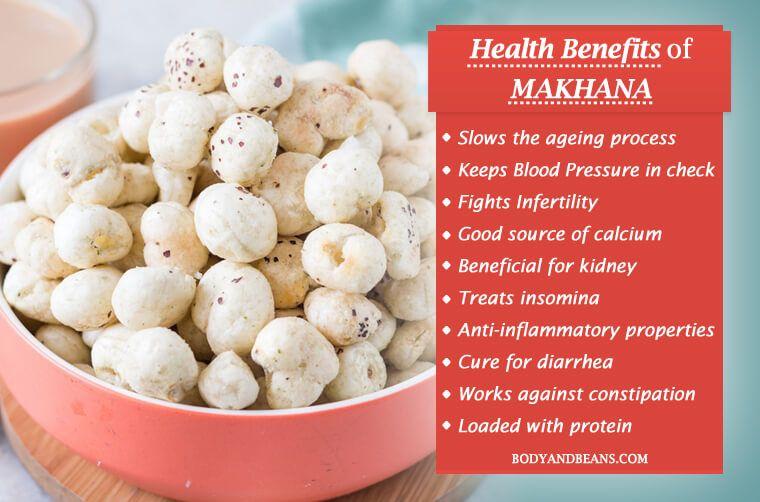 Makhana Benefits Makhana Is Loaded With Antioxidants
