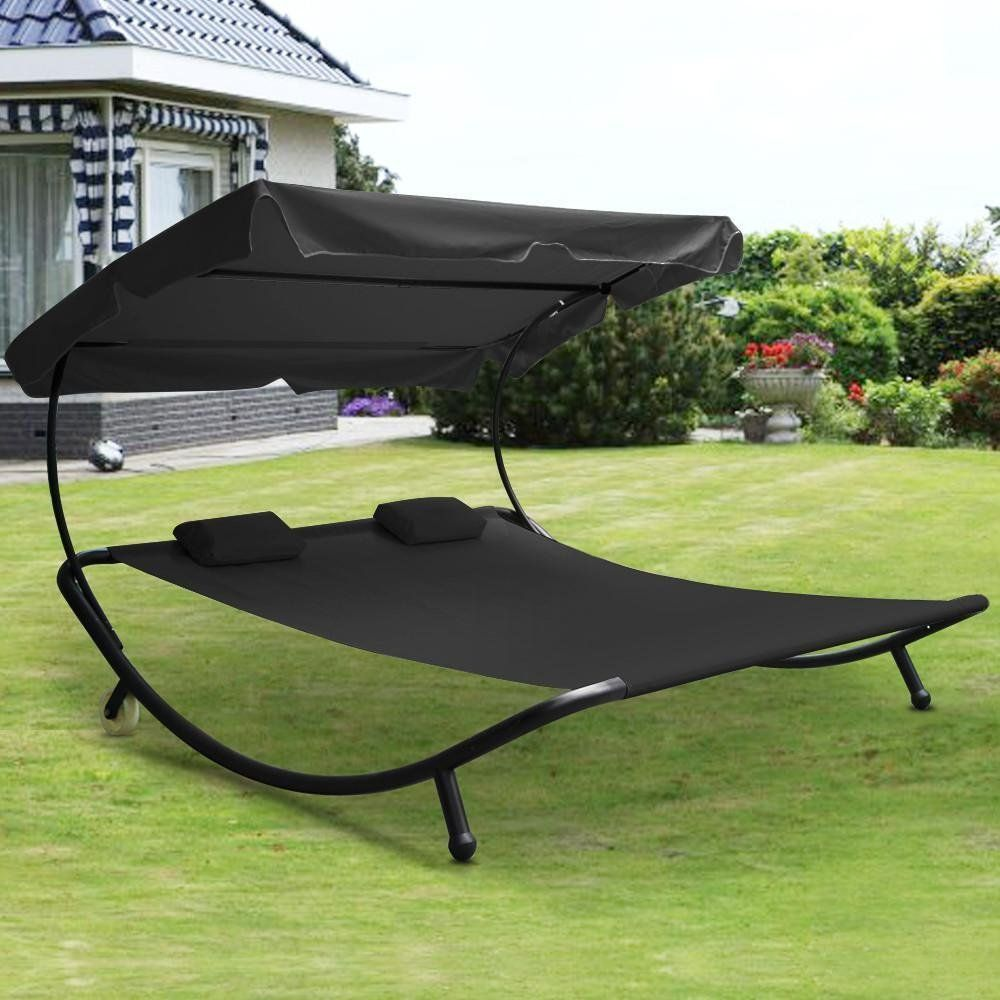 set hammock with shade and baby image stand