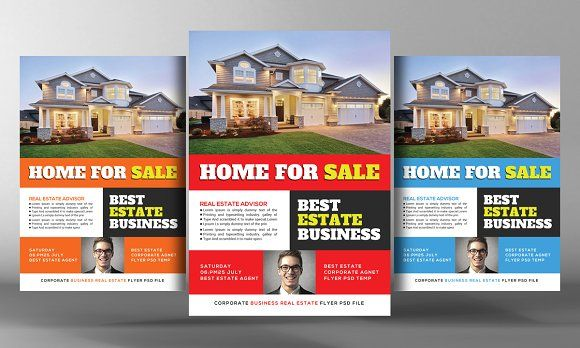 Home sale flyer template - home for sale template