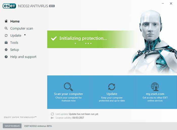 Nod32 antivirus premium 4 2017 valid till 2020