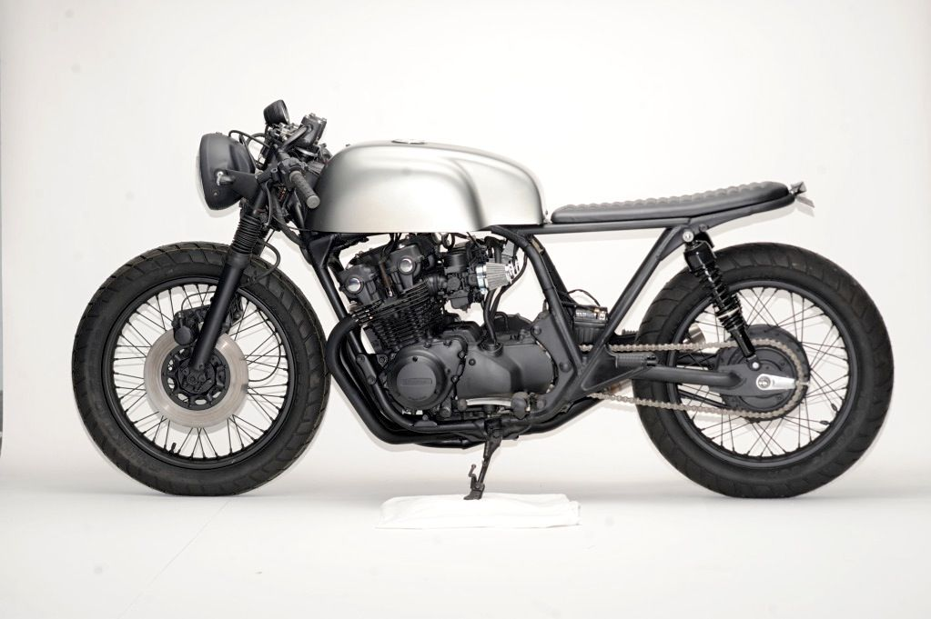 This Minimalist Honda CB750 Cafe Racer Is A Quintessential Steel Bent Customs Motorcycle All The Unnecessary Nonsense In Garbage Leaving Just