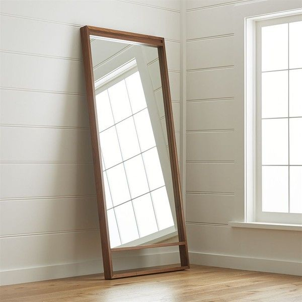 Crate barrel blair floor mirror 499 ❤ liked on polyvore featuring home home decor mirrors crate and barrel floor mirror crate and barrel crate