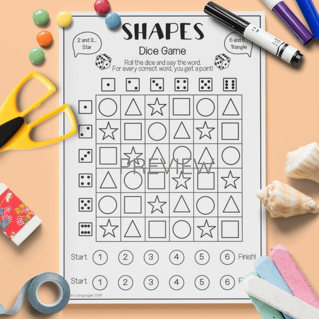 Shapes Dice Game