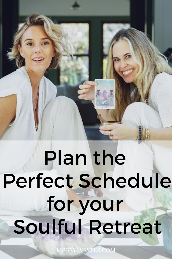 How to Plan the Perfect Schedule for your Soulful Retreat