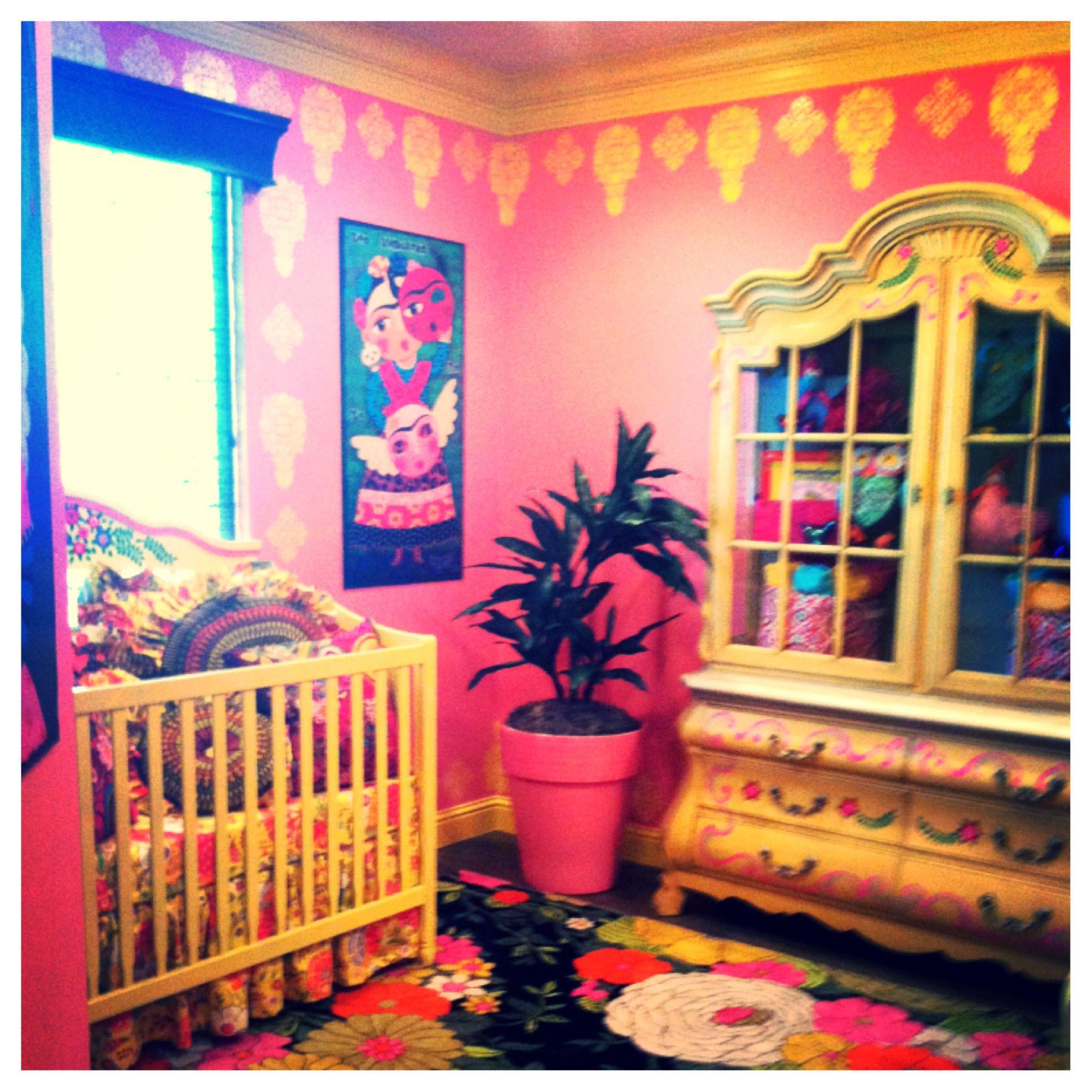 Happy Spanish Decor House Nursery Baby Room In 2019