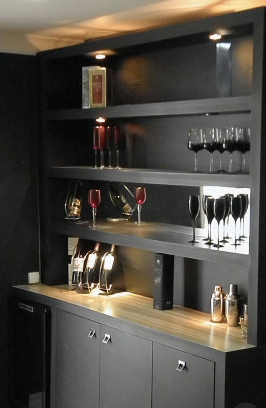 Home Decor 25 Cool At Home Bar Ideas For You To Copy Home Bar Counter Modern Home Bar Home Bar Rooms
