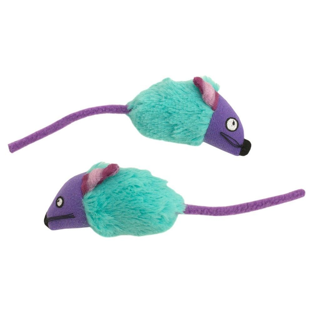 Monster Mice Cat Toy - 2 Pack - Boots & Barkley, Blue   Products ...
