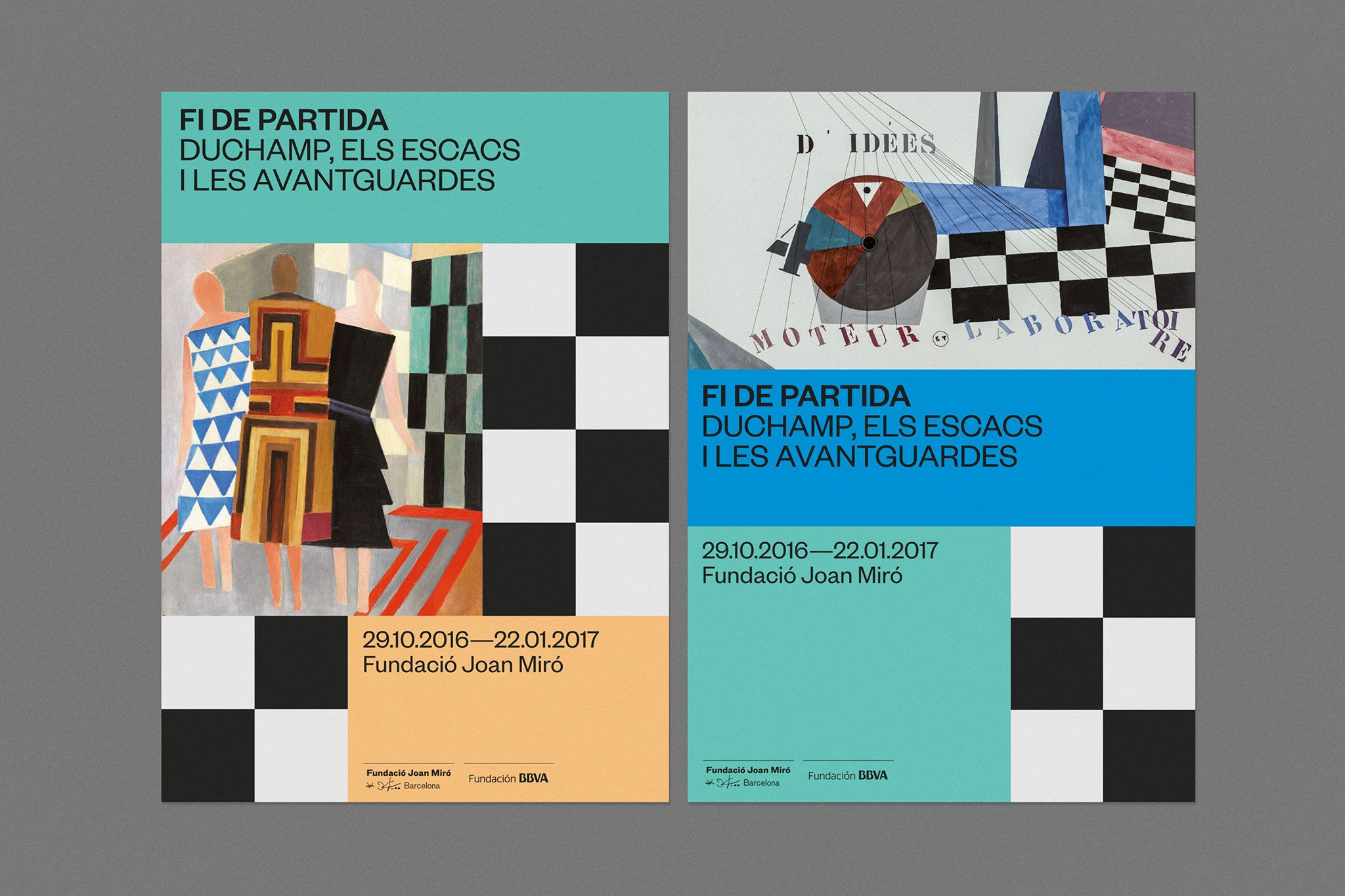 Fi De Partida Hey Visual Identity Poster Design Creative Poster Design