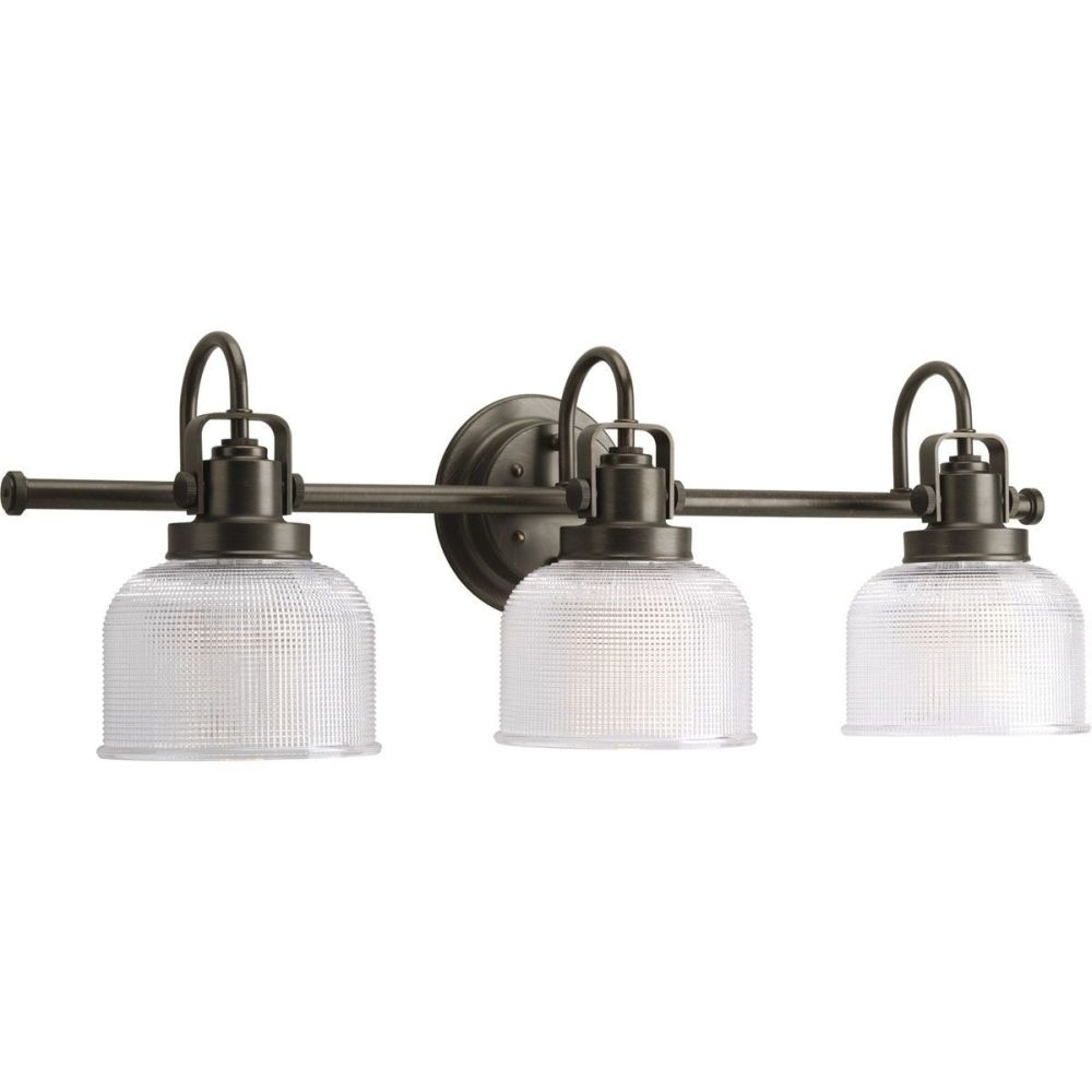 Bathroom Lighting Galway progress lighting p2992-74 archie 100 watt three-light medium-base